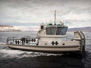 Jensen design selected for NAVSEA workboat