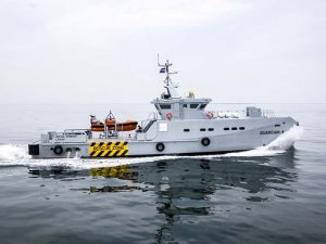 Damen delivers fourth security vessel to Nigerian operator