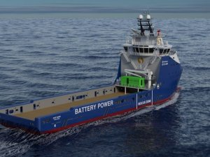 Rolls-Royce to Upgrade Six Platform Supply Vessels with Battery Power