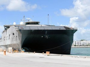 Navy's Newest Expeditionary Fast Transport Ship Named