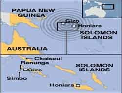 Tsunami swamps Solomons