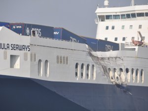 MSC Containership Collides with RoRo in the Netherlands