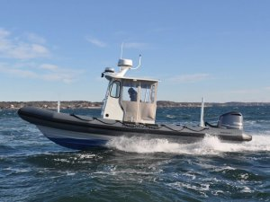 RIBCRAFT Delivers Harbormaster Boat to Edgartown