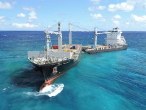 Shanghai Salvage Awarded Contract to Kea Trader from Durand Reef