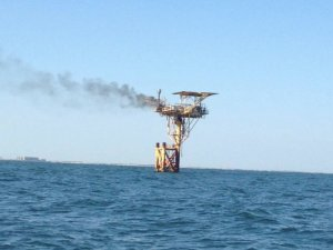 Oil Platform Fire near Corpus Christi Put Out