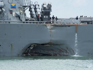 Fatal US Destroyer Collision Caused by 'Sudden Turn' -Singapore