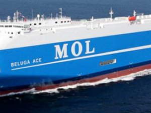 MOL takes delivery of next generation car carrier