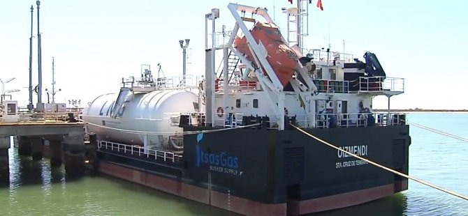 Cepsa Debuts South Europe's First Multi-product LNG Supply Vessel