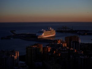 World's Biggest Cruise Ship Makes Worldwide Debut in Spain