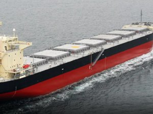 Delivery of Handysize Dry Bulk Newbuilding with Long Term Charterer Ocean Yield