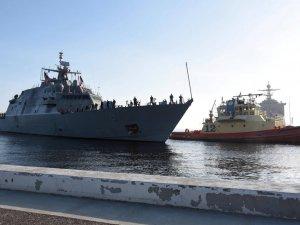 USS Little Rock Arrives in Mayport