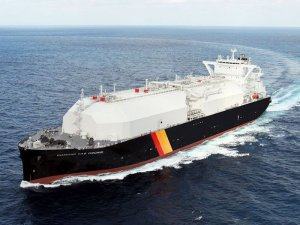 Next gen LNG carrier named in Nagasaki