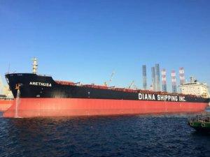 Diana Shipping TC for m/v Arethusa with Glencore
