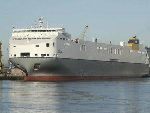 World's Largest Short Sea Ro-Ro Vessel Named in Dublin