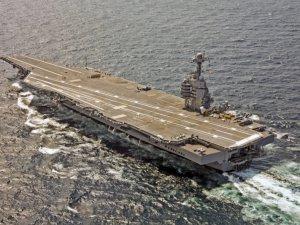 Navy Busts $12.9 Billion Spending Cap On Supercarrier