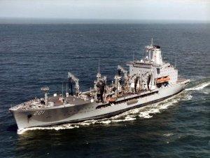 Navy oiler to be overhauled at Boston Ship Repair
