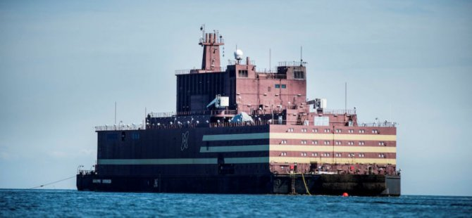 Russia's First Floating Nuclear Power Plant Arrives in the Arctic