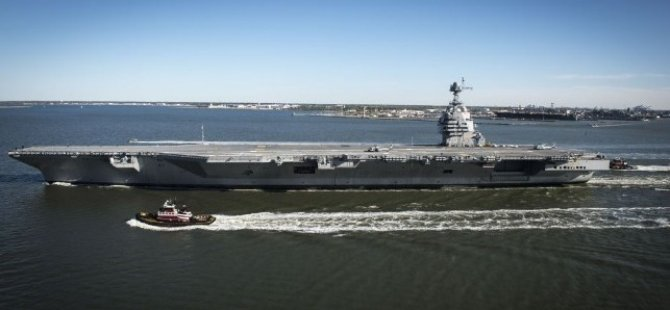 Carrier USS Ford Forced to Return to Port