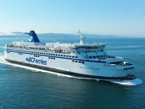 First BC Ferries Spirit class ship completes LNG conversion