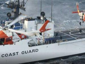 US Coast Guard Medevacs Mariner near Sabine, Texas