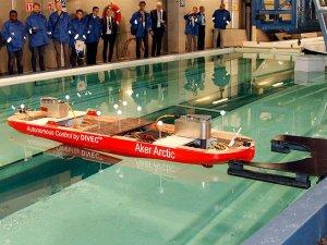 Aker Arctic tests autonomous ship model