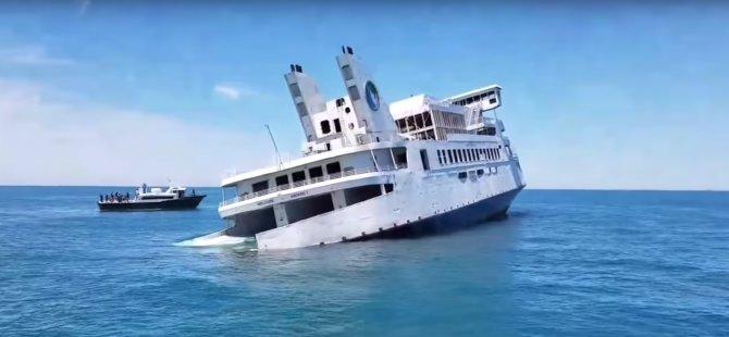 Luxury Ferry Sunk as Artificial Reef