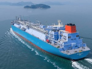 Daewoo Shipbuilding & Marine Engineering Delivers New High-tech LNG Carrier