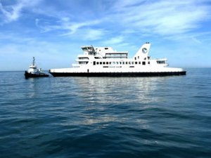 Old ferry finds new life as an artificial reef