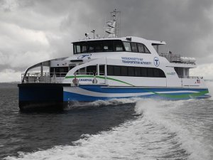 Gladding-Hearn delivers second of two high speed Boston Harbor ferries