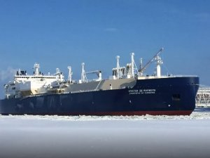 Thick Sea Ice Blocks LNG Exports from Russia's Arctic Plant