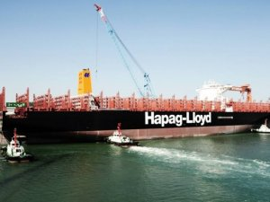 """Container Ship """"Afif"""" Named in London Gateway"""