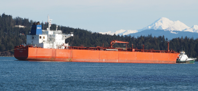 Largest Oil Shipment Sent from Vancouver to China Since 2015