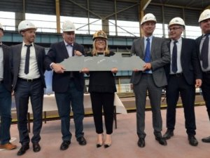 """Chantiers de l'Atlantique Cuts Steel for its """"First"""" Cruise Ship"""
