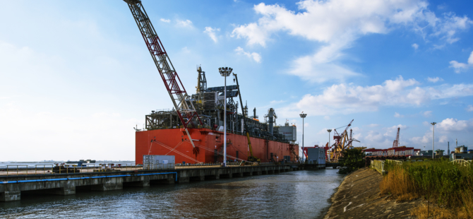 Wison Bags FEED Contract for FLNG Project from Western LNG