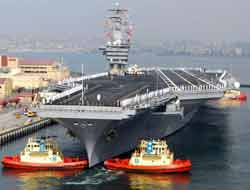 Nimitz leaves for Persian Gulf
