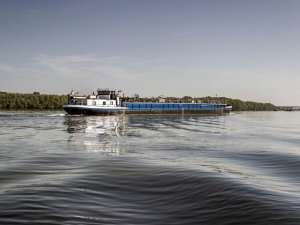 Low Water Hinders River Shipping in Germany