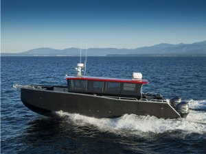 Armstrong Marine Delivers Catamaran in Nimmo Bay