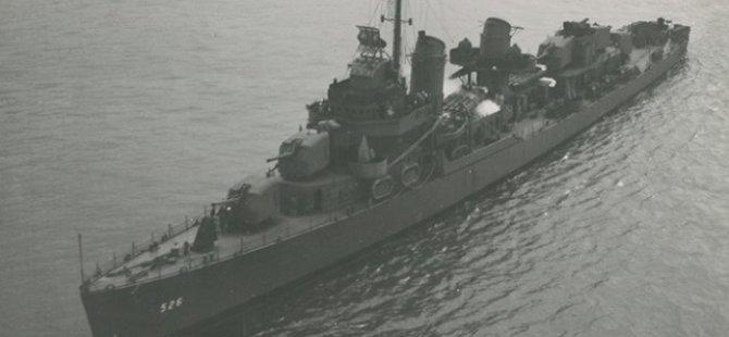 Wreck of WWII Destroyer Found in Aleutian Islands