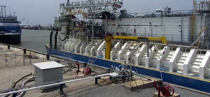 Bunkering barge completes LNG trials at Harvey Gulf facility