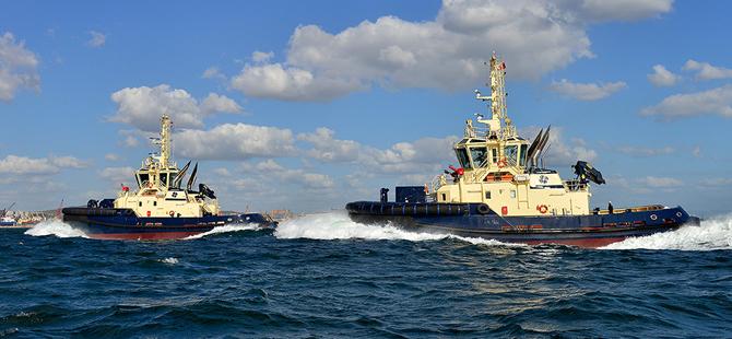 Latest Sanmar Tugboat under Trials