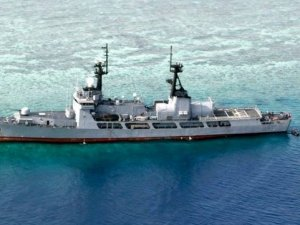 Philippine Navy Refloats Grounded Frigate