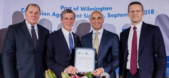 Gulftainer Signs 50-year Lease for Port of Wilmington