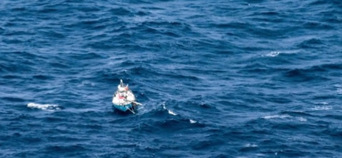 Stricken Solo Yachtsman Sighted in the Indian Ocean