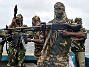 Pirates Attacked on a Bunkering Tanker in Kongo