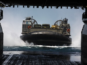 Amphibious Ships of US Navy on Pre-Deployment Exercise