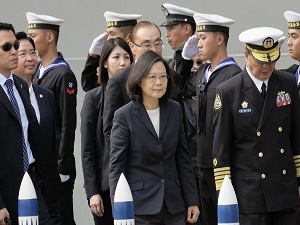 Taiwan Commissions Warships Against Chinese Threats