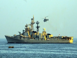 Singapore and Indian Navies Begin Joint Exercise