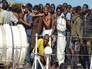 Ship Seized by Migrants off Libya