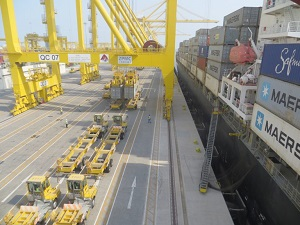 Qterminals Shattered New Cargo Handling Record