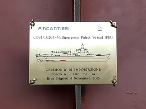 Italian Navy Lays Keel for New PPA ship
